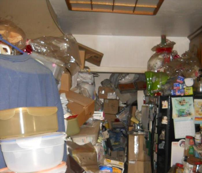 Hoarder Pack Out in Encino Before