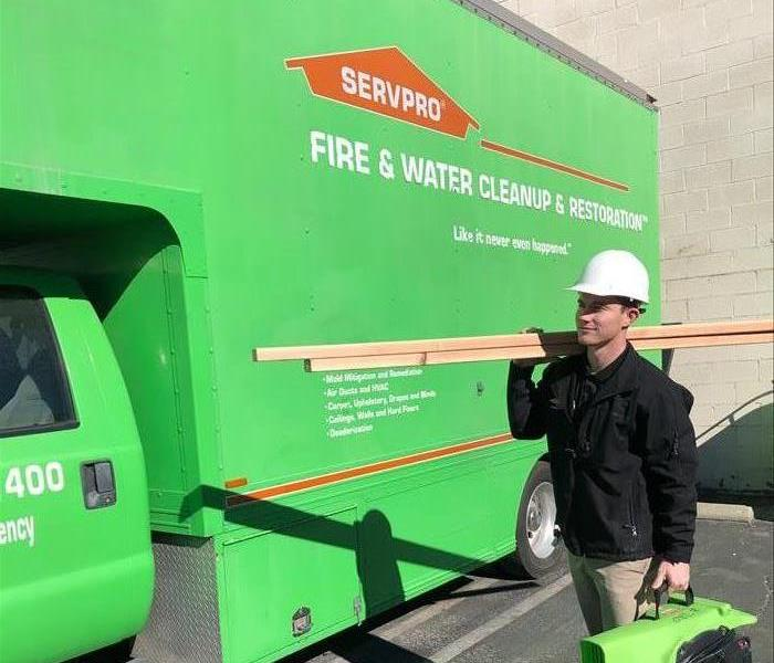 Our team here at SERVPRO of Burbank!